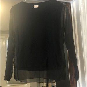 Gorgeous H&M sheer black sweater!